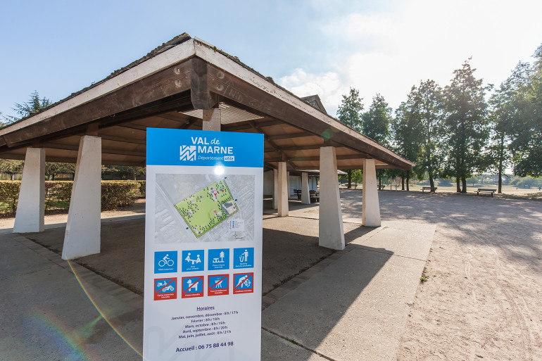 Vue du parc Petit-le-Roy; crédit photo : E. Legrand