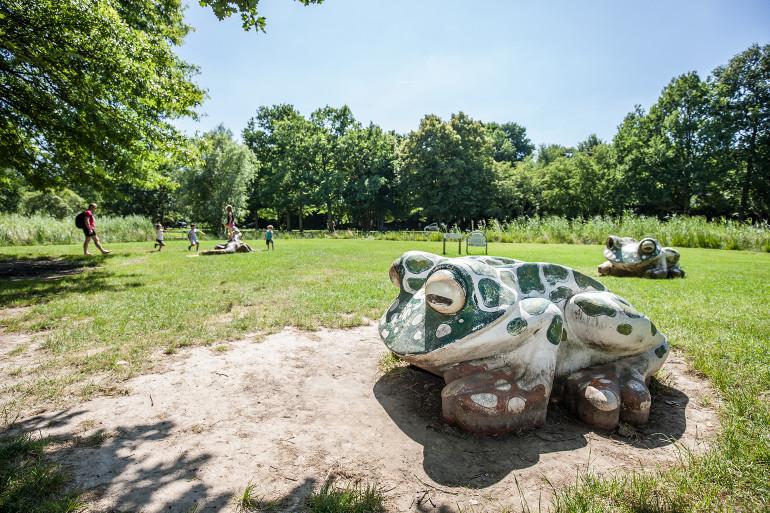 Vue du parc des Marmousets ; crédit photo : E. Legrand