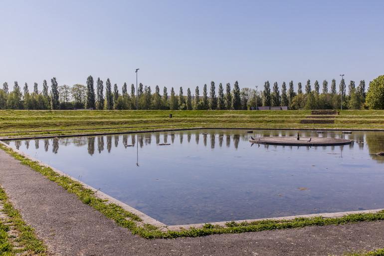 Parc interdépartemental du Grand Godet à Villeneuve-le-Roi ; crédit photo : E. Legrand