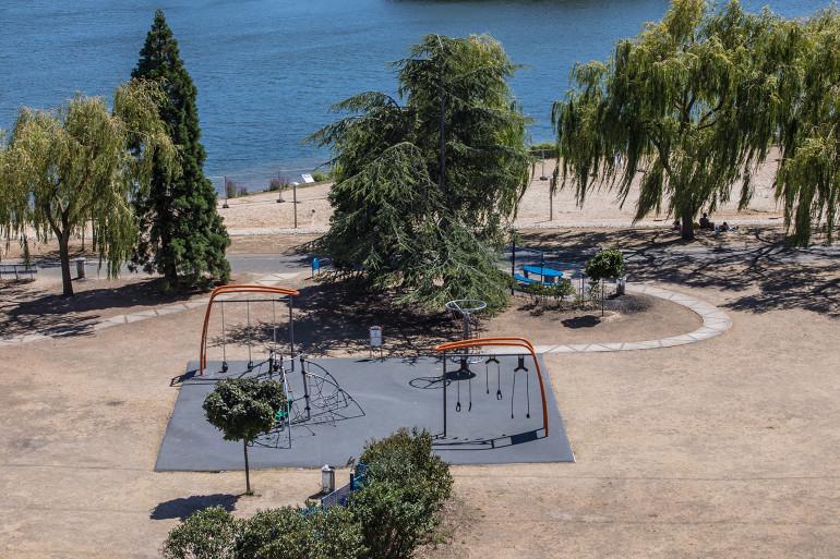 Parc de la Plage-Bleue ; crédit photo : E. Legrand