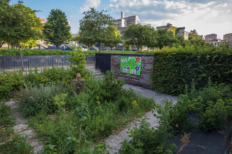 Jardin pédagogique du parc des Cormailles ; crédit photo : Eric Legrand
