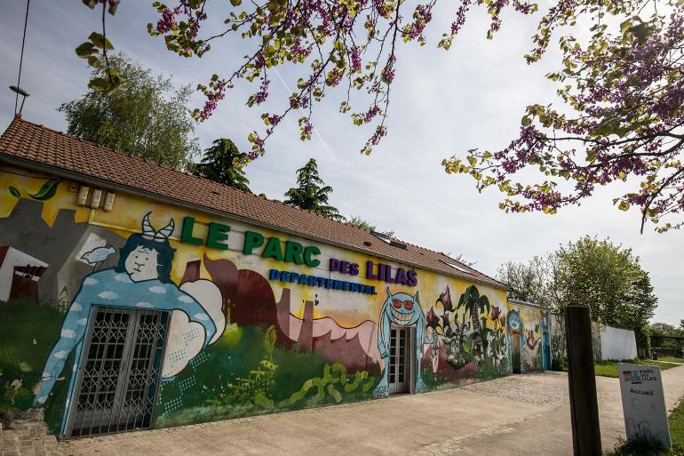 Vue du parc des Lilas ; crédit photo : E. Legrand