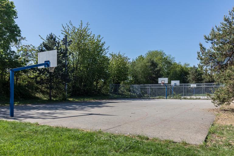 Vue du parc du Grand Godet ; crédit photo : E. Legrand