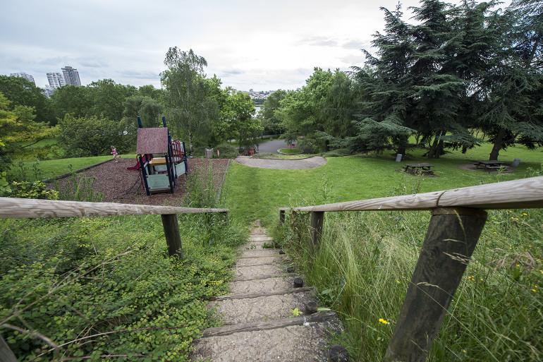 Parc du Val-de-Marne de Créteil ; crédit photo : Michael Lumbroso