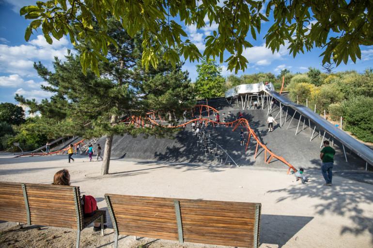 Vue du parc des Cormailles ; crédit photo : Eric Legrand