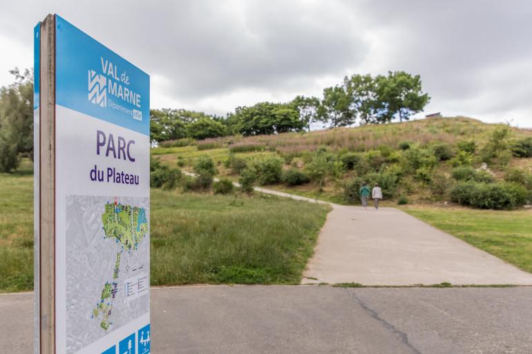 Parc du Plateau ; crédit photo : E. Legrand
