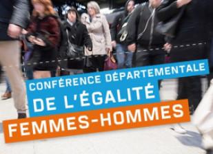 Conférence départementale de l'égalité femmes-hommes