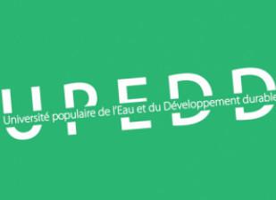 Logo Université Populaire de l'Eau et du Développement Durable UPEDD Val-de-Marne