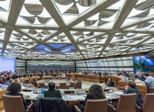Photo d'une séance du Conseil départemental du Val-de-Marne