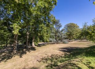 Vue du parc du Rancy à Bonneuil-sur-Marne en Val-de-Marne
