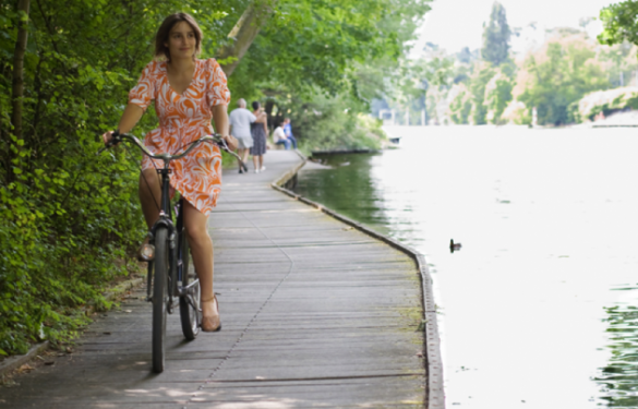 À ce jour, près de 50 km permettent de faire de la bicyclette le long de la Seine et de la Marne sur chacune des berges.