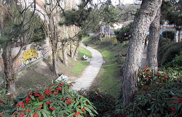 Parcours de la Bièvre enterrée - Arcueil