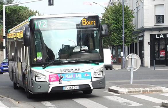A partir du lundi 1er avril, la ligne de bus 172 est renforcée.
