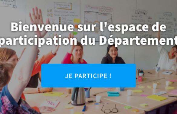 Plateforme de participation numérique du Département du Val-de-Marne