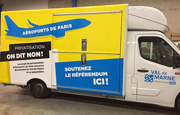 RIP Référendum d'initiative partagée ADP aéroports de paris