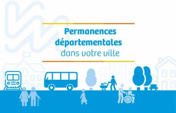 Permanences départementales