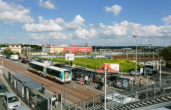 Avec un investissement d'1,8 million d'euros, le Département et la Région veulent résorber la coupure urbaine du carrefour Pompadour à Créteil