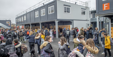 Inauguration du collège provisoire Simone-Veil