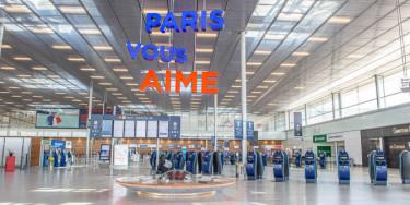 Aéroport d'Orly en mars 2020