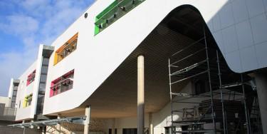 2ème phase de travaux au collège Liberté à Chevilly-Larue