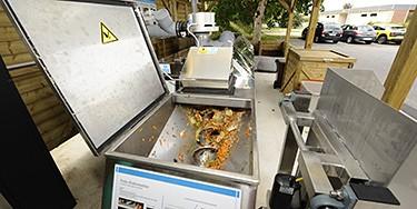 Composteur électromécanique sur le site de Valenton