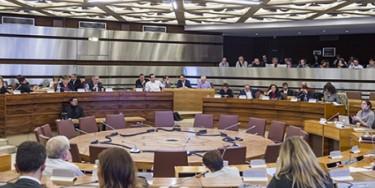 Photo d'une séance du Conseil départemental du Val-de-Marne - Photo : M. Lumbroso