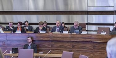 Séance exceptionnelle du Conseil départemental avec audition du Préfet sur le bilan des services de l'Etat en 2018 dans le département | Photo : M. Lumbroso