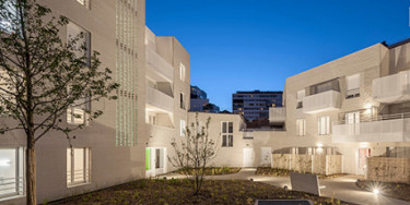 Logement : Inauguration de la nouvelle résidence Olympe de Gouges à Ivry-sur-Seine, photo de C. Lallement