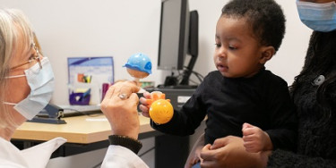 Consultation pédiatrique au centre de PMI da Saint-Mandé