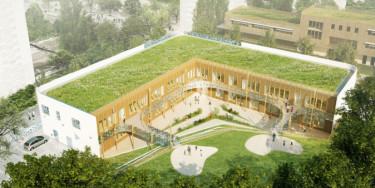 Projets de la future crèche et du centre de PMI des Larris à Fontenay-sous-Bois