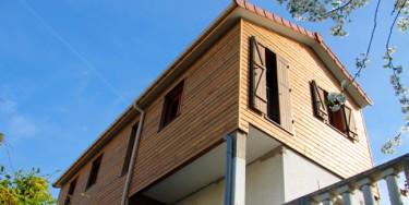 Maison éco-construite à Vitry-sur-Seine. ©Greenstep