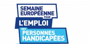 Logo de la Semaine européenne de l'emploi des personnes handicapées