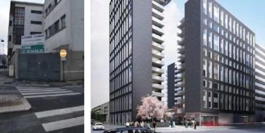 Trois immeubles seront érigés pour accueillir 600 locataires.