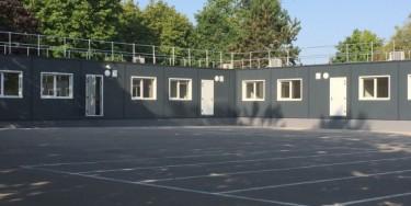 Les six nouvelles salles du collège Janusz Korczak à Limeil-Brévannes