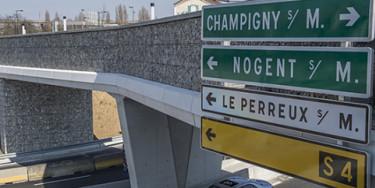 Réaménagement du pont de Nogent par M. Lumbroso
