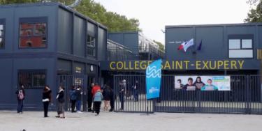 Le collège provisoire Saint-Exupéry officiellement inauguré le 28 septembre 2018