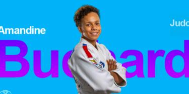 Amandine Buchard, judokate val-de-marnaise médaillée d'argent en judo (-52kg)