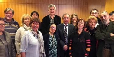 Un délégation Vietnamienne s'est rendue à l'Hôtel du Département pour discuter des actions de coopération menées avec le Département.