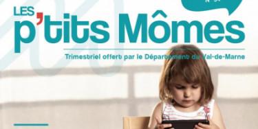 Couverture du Magazine les p'tits Mômes numéro 54 hiver 2020/2021
