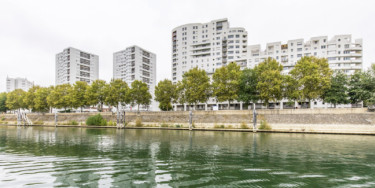 Vue de la Seine en Val-de-Marne ; crédit photo : Eric Legrand