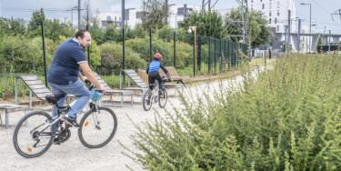 Le vélo est de retour Cycle 3 (2020-2021) de l'UPEDD ; Crédit photo : M. Lumbroso