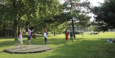 Parc Petit-le-Roy à Chevilly-Larue (Photo : D. Calin)