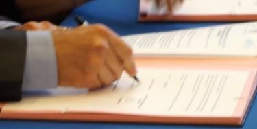 Signature du protocole concernant les violences conjugales