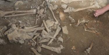 Sondage archéologique à l'église Saint-Pierre de Chennevières-sur-Marne
