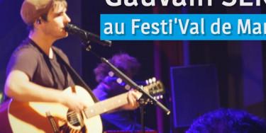 Ouverture du Festi'Val-de-Marne avec Gauvain Sers