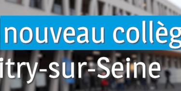 Un nouveau collège à Vitry-sur-Seine