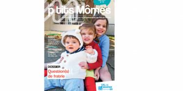Nouvelle formule pour le magazine de la petite enfance du Département du Val-de-Marne Les Ptits Mômes