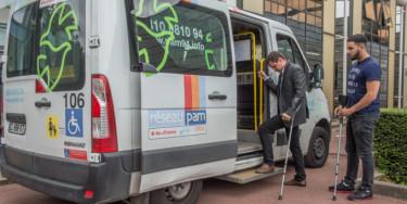 Réseau PAM - bus de transport pour handicapés Filival