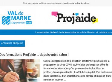 News Proj'aide #130 Matinale de Proj'aide, formations à distance, et formations en langue des signes française
