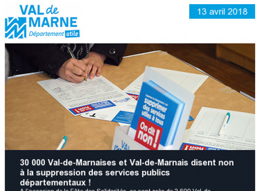 Département utile / Compte rendu de séance / Climat / Fête des Solidarités / Sorties / Saint-Exupéry / Henri-Mondor